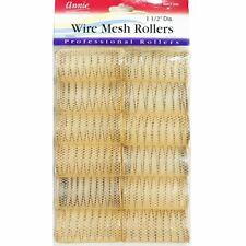 Annie 1-1/2 XL Wire Mesh Hair Rollers - 12 Pcs. by Annie