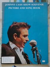 Johnny Cash Show Souvenir Picture And Song Book 1966