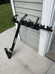 Thule Range Bike Rack Model 515-0109 4 Bike Rack Hitch Mount Folding Frame