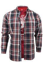 Camicie casual e maglie da uomo rossi dal Perù