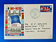 More details for gb first day cover 2 apr 1969 nato shape bf 1081 ps twentieth anniversary oa8