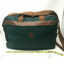 Vintage Ralph Lauren Fragrance Promo Green Canvas Messenger Laptop Bag