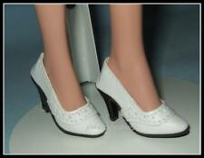 WHITE Oxford High Heel Pumps SHOES for ELLOWYNE WILDE Princess Diana TYLER
