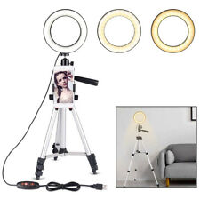 LED Ring Light with Stand 5500K Dimmable LED Lighting Kit Makeup fr Youtube Live