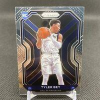 2020-21 Panini Prizm Basketball Tyler Bey Base Rookie #251🔥Mavericks RC PWE