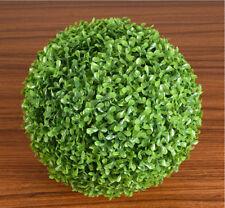 25cm Artificial Balls Grass Tree Plant Chain Hanging Basket Home Wedding Decor