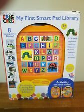 my first smart pad library from the world of eric carle 8 hardback books include