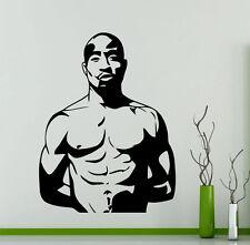 Tupac Shakur 2PAC Wall Decal Vinyl Music Hip Hop Sticker Decor Home Mural (12mu)