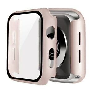 Glass + Cover For Apple Watch case 6/SE/5/4/3/2/1 iWatch 42mm 38mm bumper