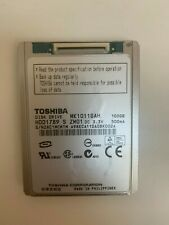 "Toshiba MK1011GAH  HDD1789 100GB Internal 4200RPM 1.8"" HDD Ultra-ATA/100"