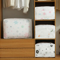 Simple Foldable Storage Bag Clothes Blanket Quilt Sweater Organizer Box Pouches
