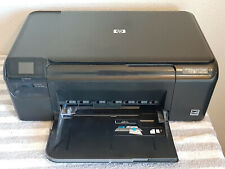 Hp Photosmart C4680 All-In-One Inkjet Printer Scan Copy with Ink! *Tested*