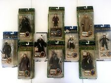 Lord of the Rings ToyBiz Super Posable Figure Collection Lot of 10