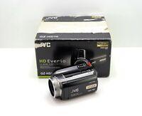 JVC EVERIO GZ-HD10 CAMCORDER BOXED HDD HIGH DEFINITION HD DIGITAL VIDEO CAMERA