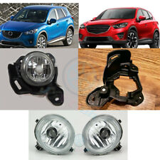 A Pair Fog Lights  Driving Bumper Lamps fog Bracket h For Mazda CX-5 2013-2016