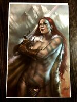 RED SONJA #1 SCOTTS COLLECTIBLES L. PARILLO EXCLUSIVE VIRGIN COVER LTD 500 NM+