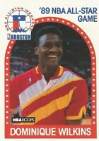 Dominique Wilkins All Star Hoops 1989/90 NBA Basketball Card #234