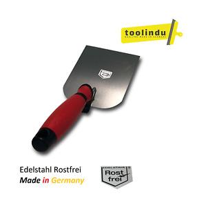 Gipserspachtel 60-80-100mm Edelstahl Rostfrei Made in Germany Stuckateurspachtel