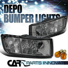 For Nissan 90-96 300ZX Z32 Tinted Turn Signal Corner Bumper Lights DEPO