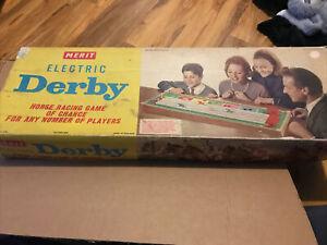 Merit Electric Derby Game