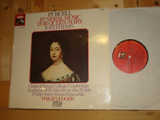 Purcell Funeral Music for Queen Mary LEDGER EMI MUSICA PRAE CLASSICA LP NM