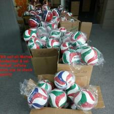 Volleyball Ball Indoor Outdoor Volley Game Size 5 Molten V5M4500 Leather Free US
