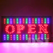 Top Quality Super Bright Flashing LED OPEN Shop Sign Neon Display Window Lights