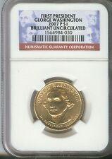 2007-P $1 George Washington Presidential Dollar NGC Brilliant Uncirculated  030