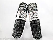 Paßt für HONDA MONKEY Z50 2x REIFEN BRIDGESTONE 3.50-8 aus 2018 NEU,tyres
