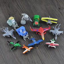 12 Disney Pixar Planes Cars Helicopter Action Figures Kids Figurines Playset Toy
