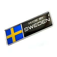 VOLVO stickers MADE BY SWEDEN  metallic