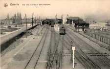 Normalformat Ansichtskarten aus Europa mit dem Thema Eisenbahn & Bahnhof