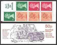 SG FB10B 1979 £0.50 Veteran Cars 1907 Rolls Royce Folder Booklet #1