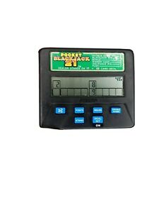 POCKET BLACKJACK 21 Handheld Electronic Game Radica Cards Casino Gamble Bet Fun