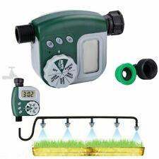 Outdoor Garden Hose Sprinkler Irrigation Controller Solenoid Valve Timer System