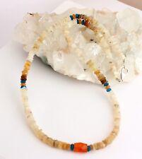 Opal Apatite Carnelian Necklace Precious Stone äthopien Jewellery Multicolour
