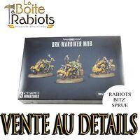 Warhammer 40000 Ork Warbiker Mob Vente au détail Rabiots Bitz Sprue