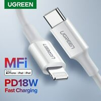 Ugreen USB C to Lightning Data Cable Type C PD Charger Fast Charging for iPhoneX
