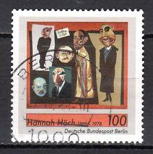 Germany / Berlin - 1989 Hannah Höch (Painter) - Mi. 857 VFU