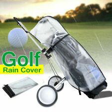 Waterproof Dustproof Golf Rain Cover PVC Golf Bag Shield Outdoor Rod Protector