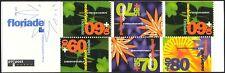 Netherlands 1992 Health & Welfare Fund/Lilies/Flowers/Plants/Nature 6v bklt s851