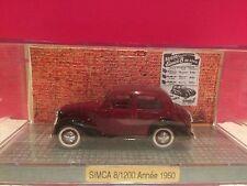 NOREV SUPERBE SIMCA 8/1200 1950 NEUF BOITE TIROIR 1/43
