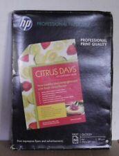 HP C6818A  Photopapier Professional Paper 180  A4 210x297mm 50 Blatt 180g/m² OVP