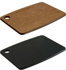 "Top Gourmet / Epicurean Chopping Board 8"" x 6"" / 20cm x 15cm Black or Nutmeg"