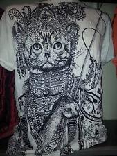 men t shirt short sleeve Yoga Cat Egypt Ra Animal Retro Om Cotton new  M Sure