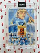 Topps Project 2020 George Brett by Andrew Thiele #286 In Hand PR 2,272 With Box