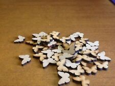 50x20mm MDF Laser Cut Butterfly Shapes