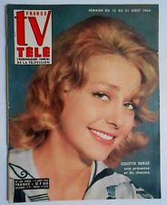 ►TV FRANCE 124/1964 - COLETTE BERGE - MYLENE DEMONGEOT - CHRISTIANE LAUDUIQUE