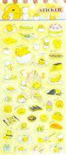 SANRIO GUDETAMA PVC PUFFY STICKER/DIY SCRAPBOOK/CELLPHONE STICKER/KIDS GIFT #B