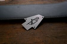 Hand Made Etched Nickel Silver Truss Rod Cover that fits Ibanez Guitar - Vai